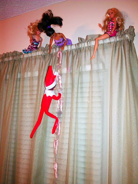 Elf On The Shelf Barbie Fun