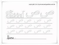 Huruf Hijaiyah Shaad