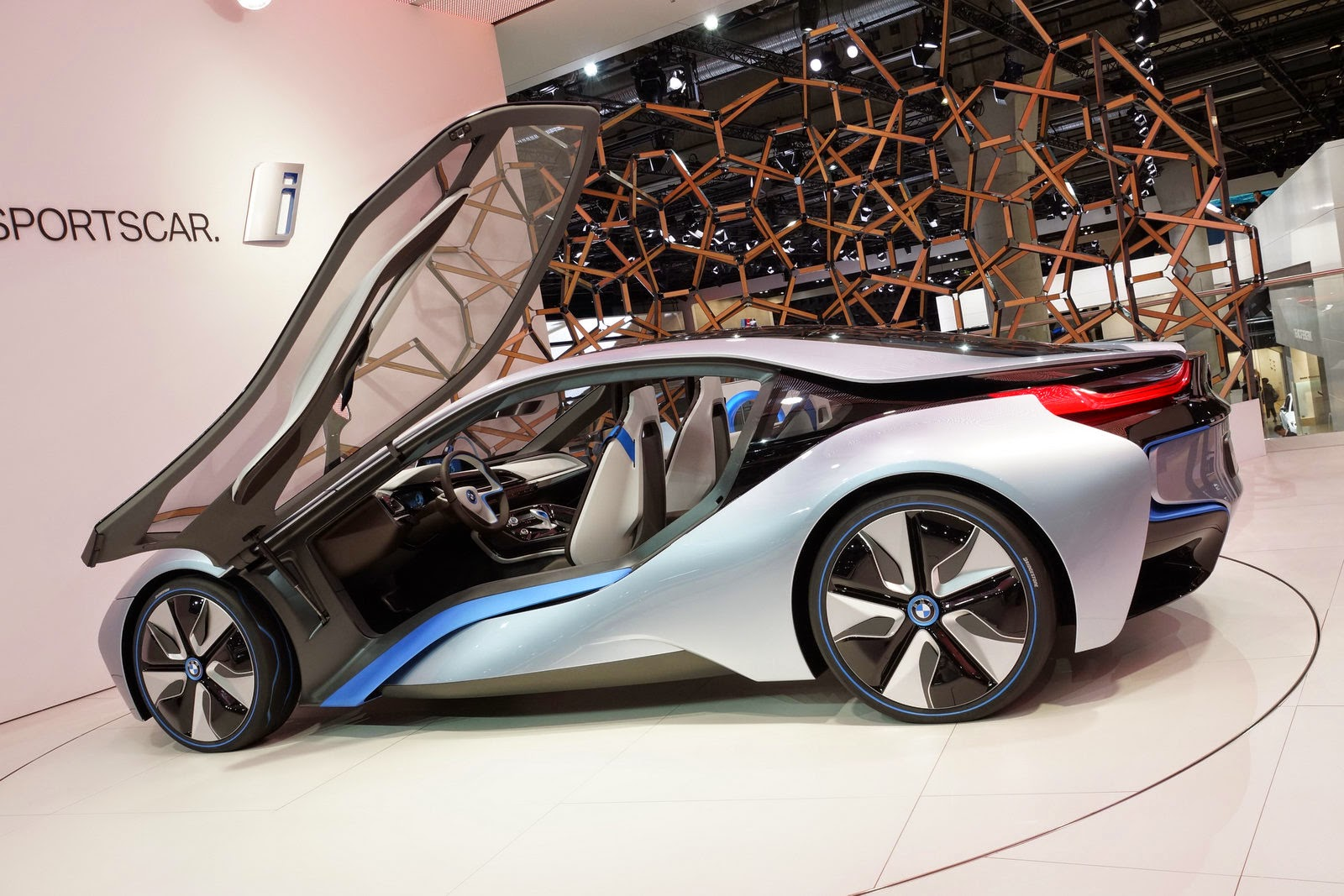 bmw new plug in hybird sport car hd wallpaper