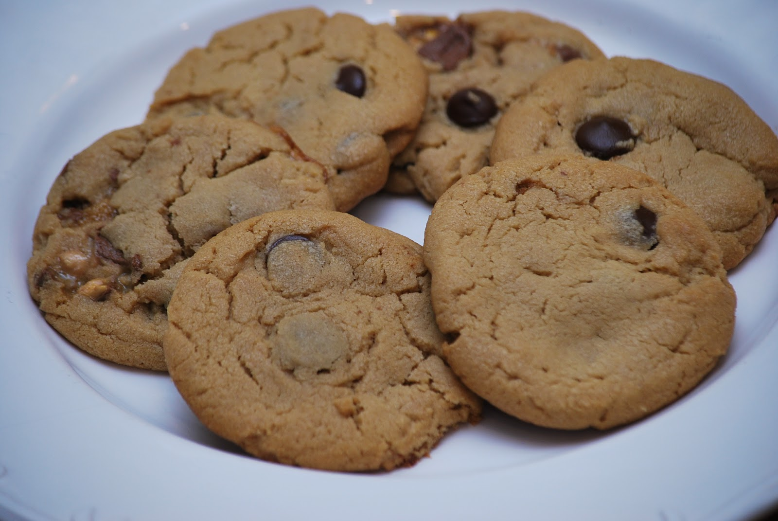 My story in recipes: Peanut Butter Snickers Cookies