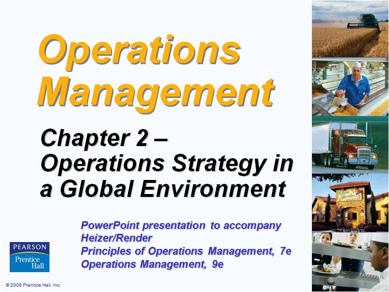 nature of international operations management And operation management 1 17 operations management 18 managing global operations 19 scope of production and operations management for distinguishing manufacturing operations with service operations: 1 tangible/intangible nature of output 2 consumption of output 3 nature of work (job) 4.