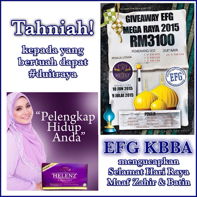 give away efg mega raya 2015