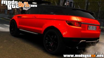 IV - Land Rover Range Rover Evoque