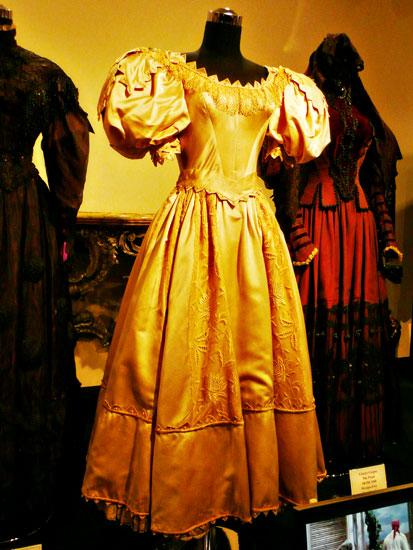 Debbie Reynolds costume exhibit Judy Garland dress by Lady by Choice