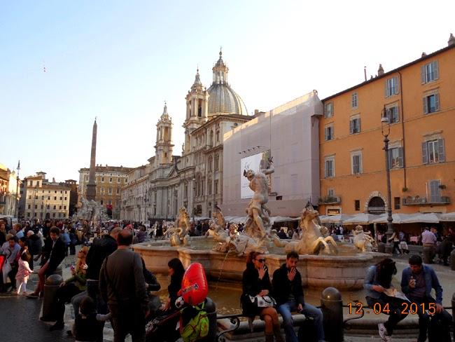 lume multa in Piazza Navona