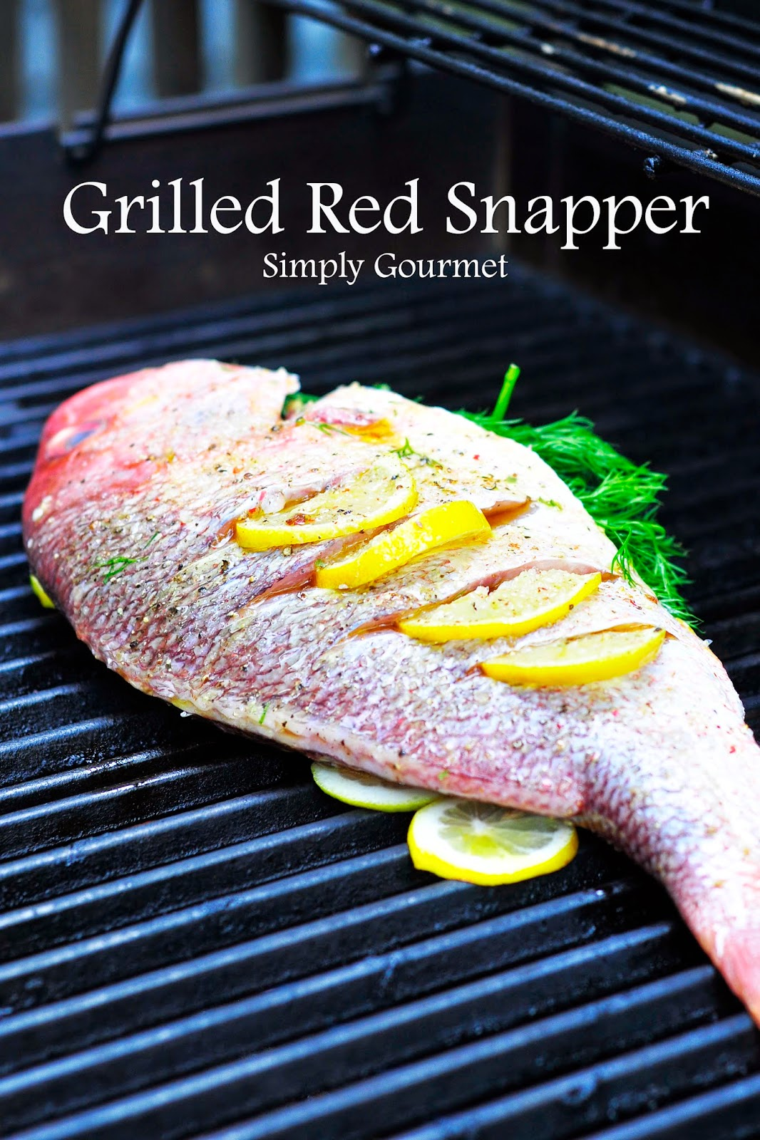 recipe: how to grill red snapper fillets on gas grill [35]