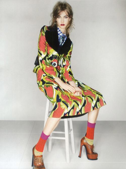 Karlie Kloss Covers Vogue UK September 2012 » Gossip   Karlie Kloss