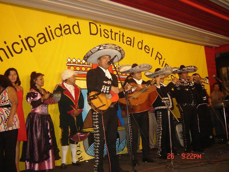Mariachi Nuevo Jalisco - El Charrito de Oro - Telfs. 7317601 - 989993475
