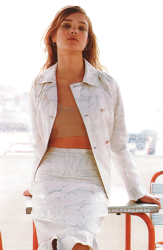 Natalia Vodianova in Lolita 2001 | Marie Claire Italia March 2001 (photography: Jacques Olivar)