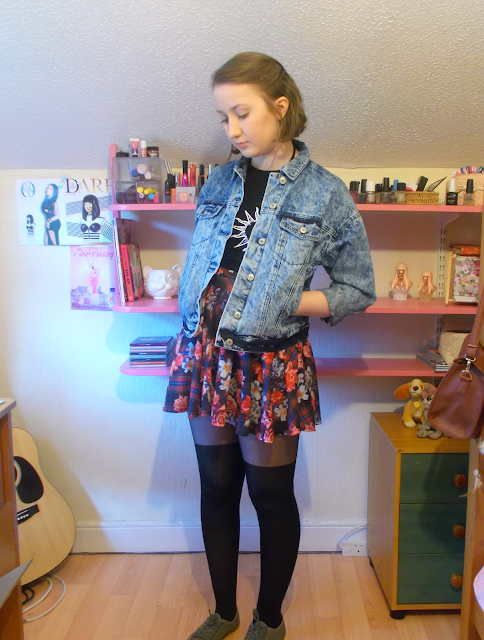 90s inspired outfit from Boohoo to celebrate Charli XCX's collection! #charlixcx4boohoo