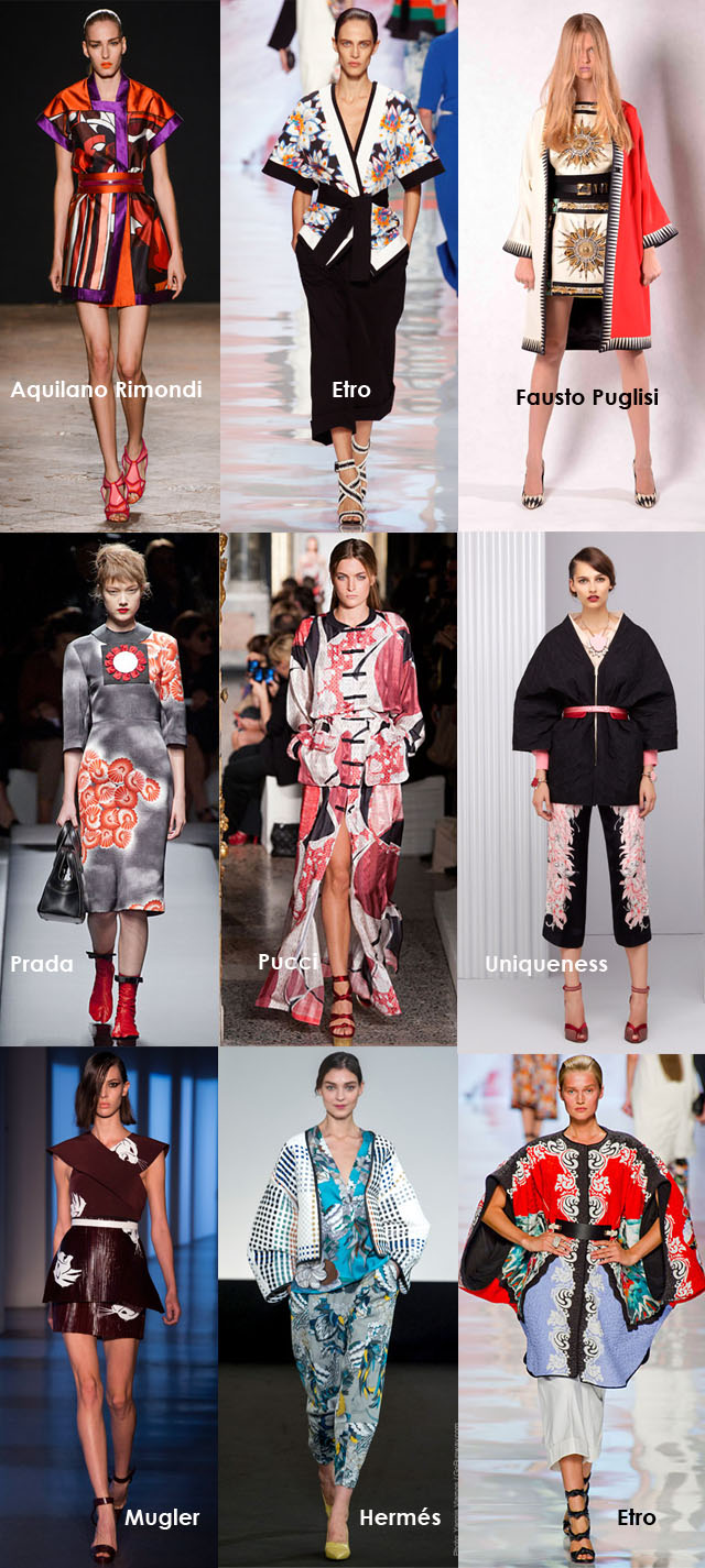 Spring 2013 Fashion Trends, Asian Influences