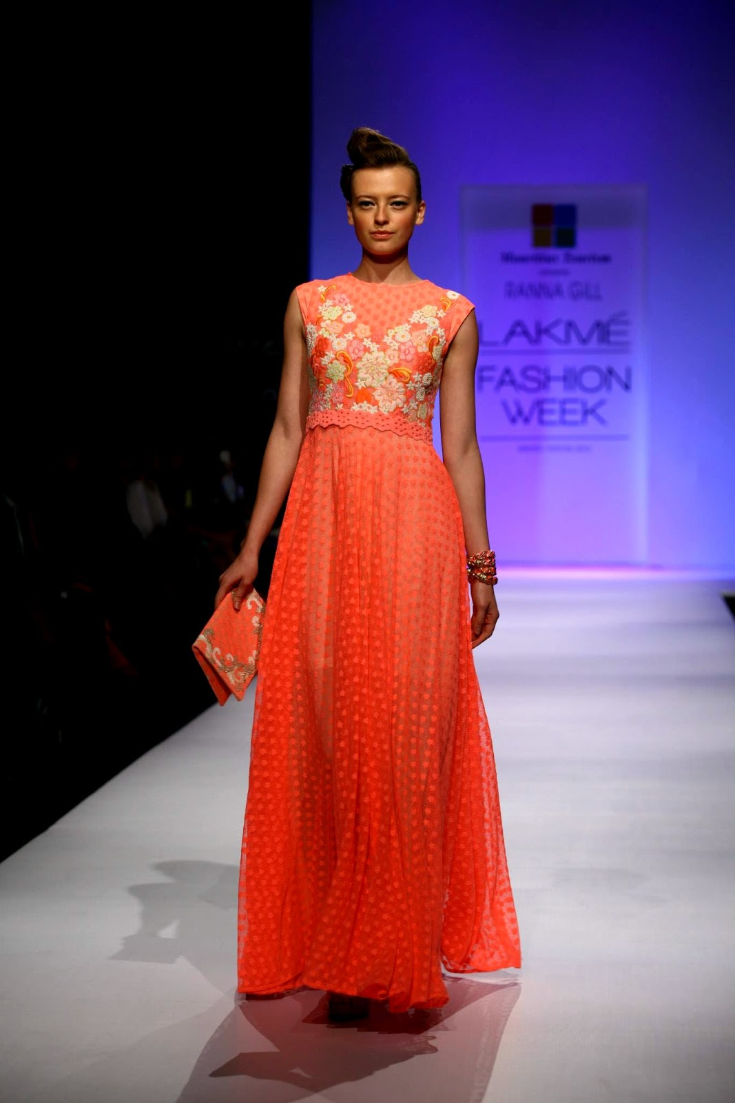 Ranna Gill Collection By Mauritius Tourism Lakme Fashion Week Winter Festive 2013 Day 1 She9