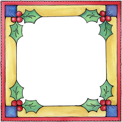 bordes para hojas de navidad - Imagenes y dibujos para ...