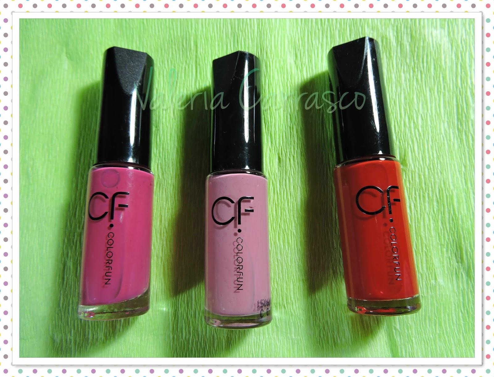 Esmaltes Color Fun ♡   Valeria Carrasco