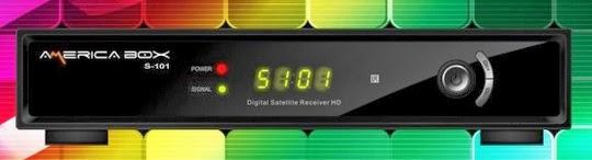 Americabox S101 V 1.42 - Atualização 18/04/2014