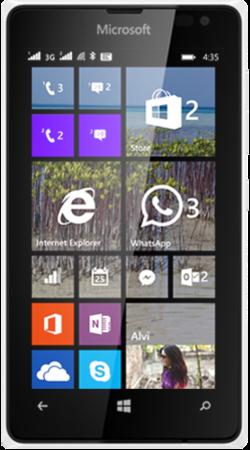 مواصفات ومميزات وأسعار هاتف لوميا Microsoft Lumia 435 مزدوج الشريحة