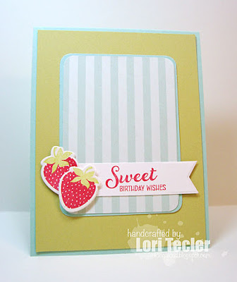 Sweet Birthday Wishes card-designed by Lori Tecler/Inking Aloud-stamps and dies from WPlus9