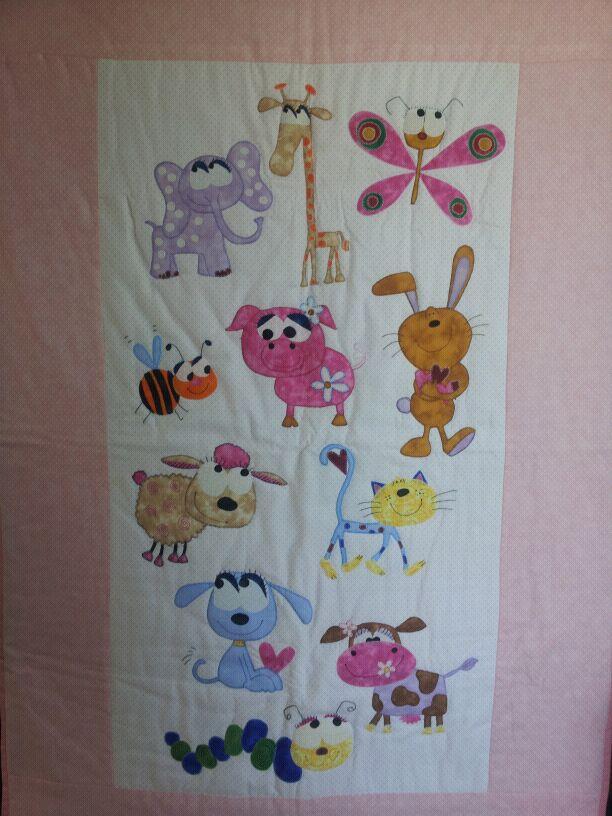 Colchas de animales infantiles imagui - Colchas patchwork infantiles ...