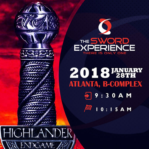 Sword Experience Coming Atlanta January 2018