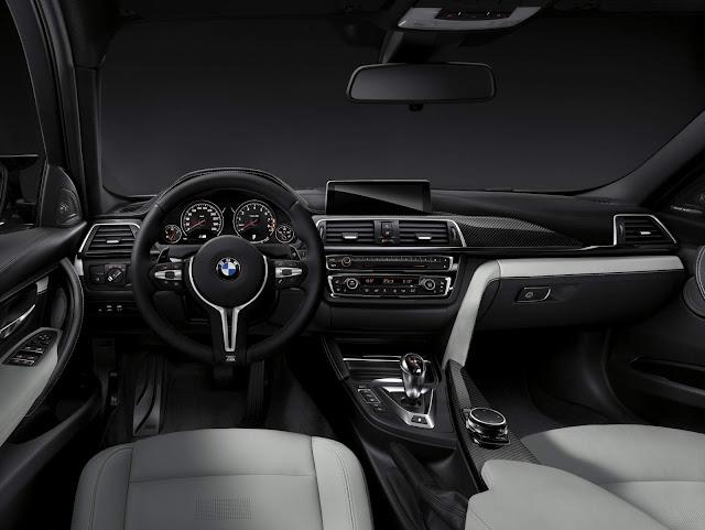 BMW M3 2016 - interior