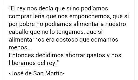 LA VIGENCIA DE SAN MARTÍN