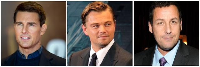 os atores mais bem pagos de Hollywood
