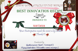 Best Innovation Award - Melon Crepes with Pineapple Stuffing