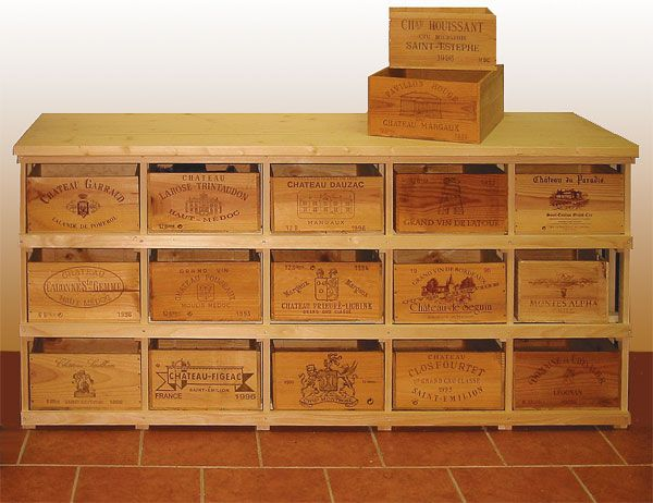 Wooden wine boxes wine crates how to find the right for Where to buy used wine crates