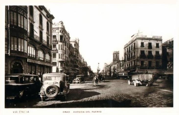 Postales de valencia grao avenida del puerto - Hotel avenida del puerto valencia ...