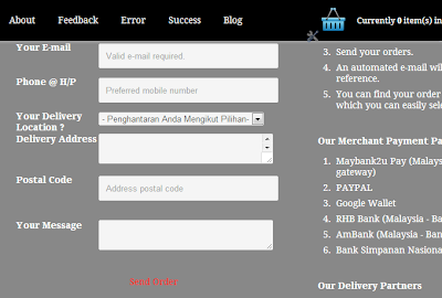 Email invoice validate send order button