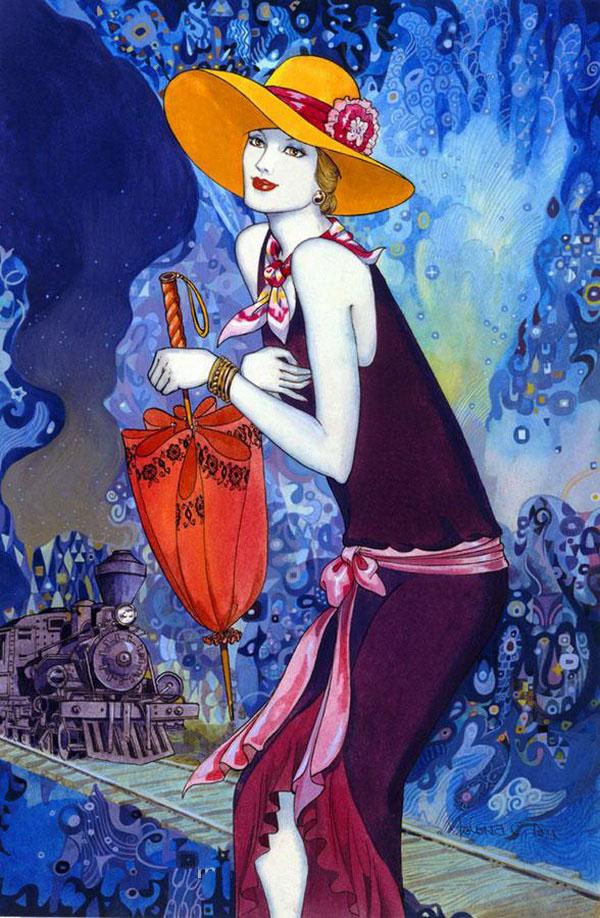 Artodyssey helena lam for Art deco artists list