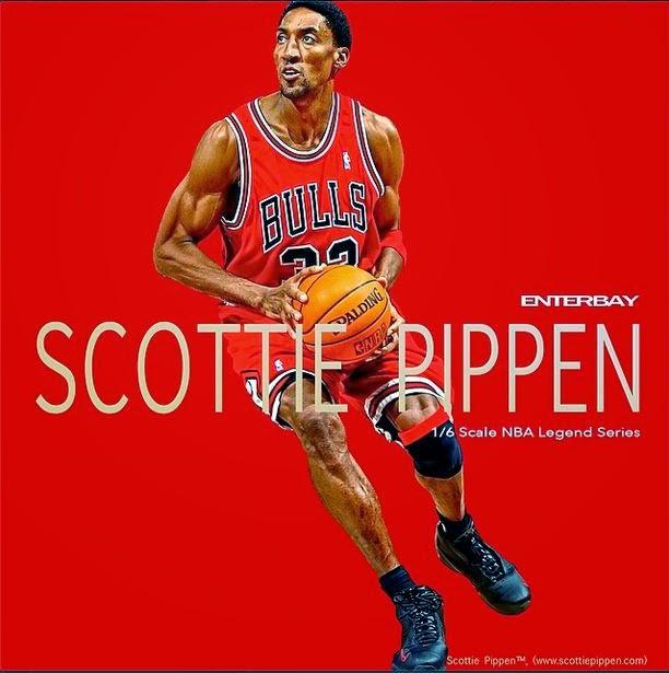 [Enterbay] NBA Legends Series: Scottie Pippen 1/6 scale Pippen