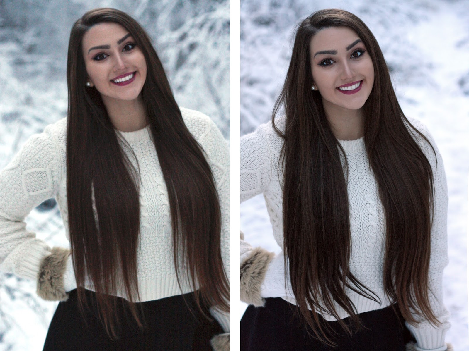 Winter wonderland with irresistible me hair extensions irresistible mes silky touch collection and it is named perfectly because boy was it silky the hair is so shiny and soft as well just generally pmusecretfo Image collections