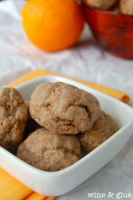 Orange Chocolate Spice Cookies