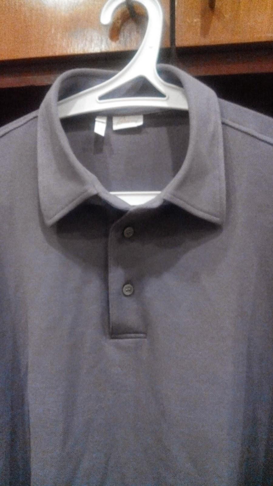 A Malaysian Man The High Collar Or Shirt Collar Polo Shirt Where