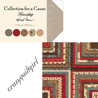 Moda FRIENDSHIP COLLECTIONS FOR A CAUSE Quilt Fabric by Howard Marcus