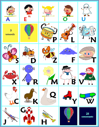 Our 26 friend alphabet sounds