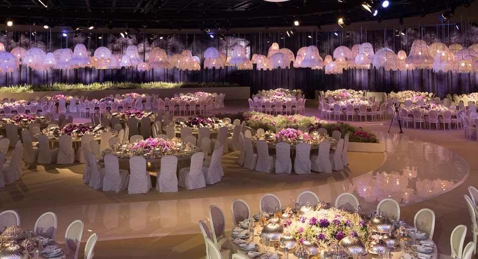 One of the most beautiful wedding decor 39 s by designlab for Most beautiful wedding reception decorations