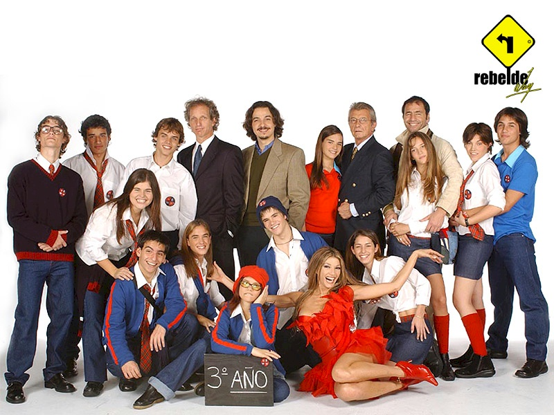 Las chicas de Rebelde Way , Antes Vs Despues