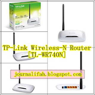 modem murah TP-Link Wireless-N Router [TL-WR740N]
