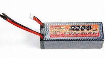 Lipo Battery 5200mah 11.1v image