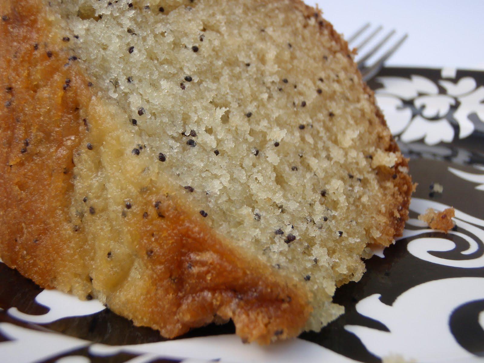 Poppy Seed Cake Using Yellow Cake Mix