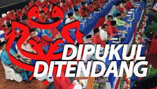 Mesyuarat UMNO kecoh, perwakilan dakwa dipukul, ditendang