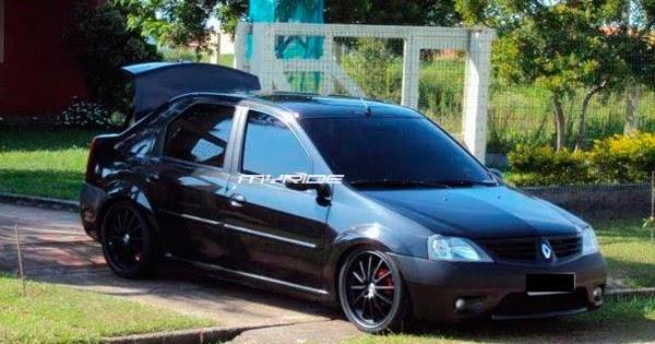 Logan Rebaixado Only Cars Carros Rebaixados Turbo