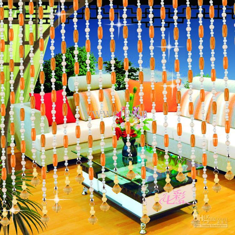 Bamboo beaded curtains bamboo craft photo