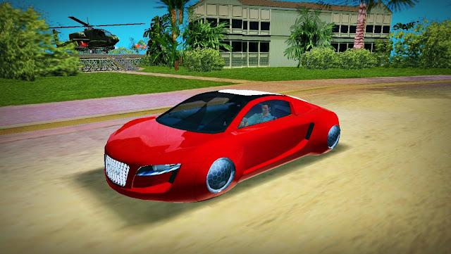 Audi RSQ Concept - GTA Vice City
