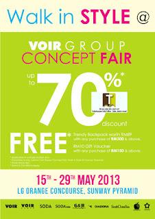VOIR Group Clearance Sale 2013