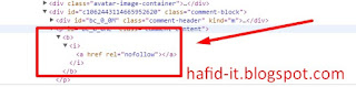 tidak mendisable elemen html