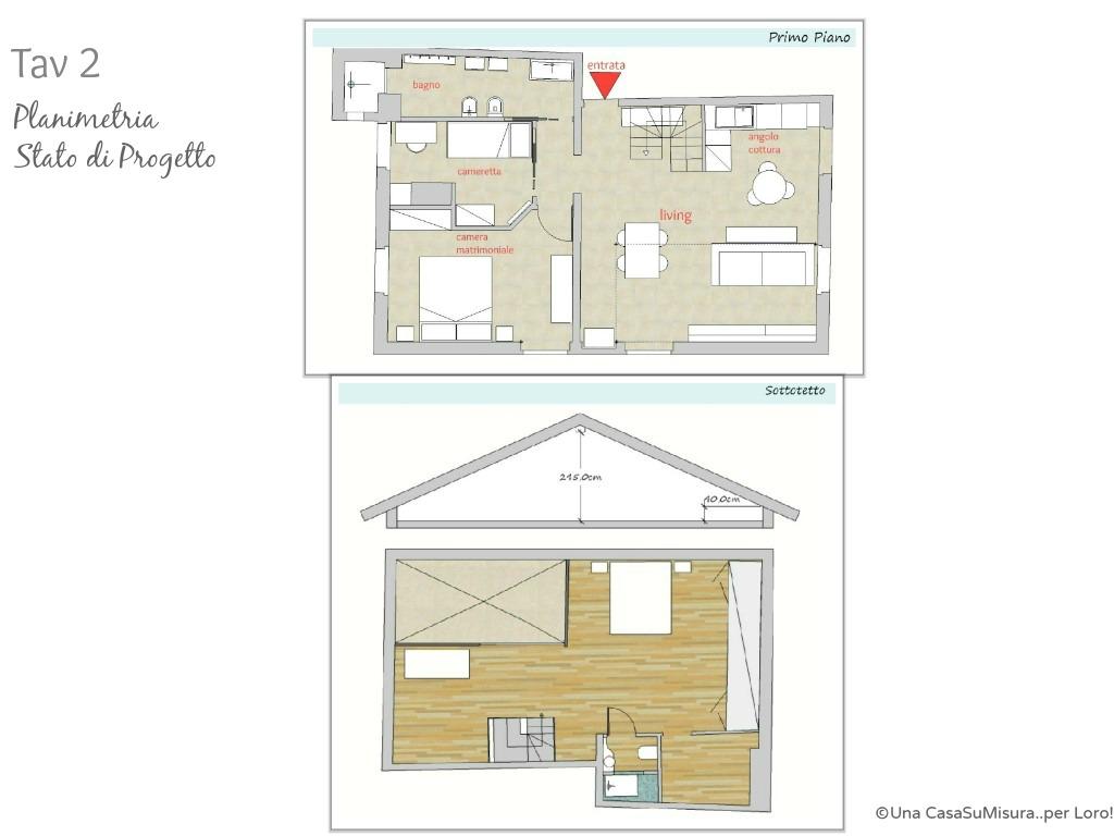 Progetto di una casa a due piani progetto casa progetto for Piani casa miami