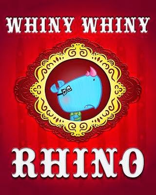 whiny whiny rhino cover